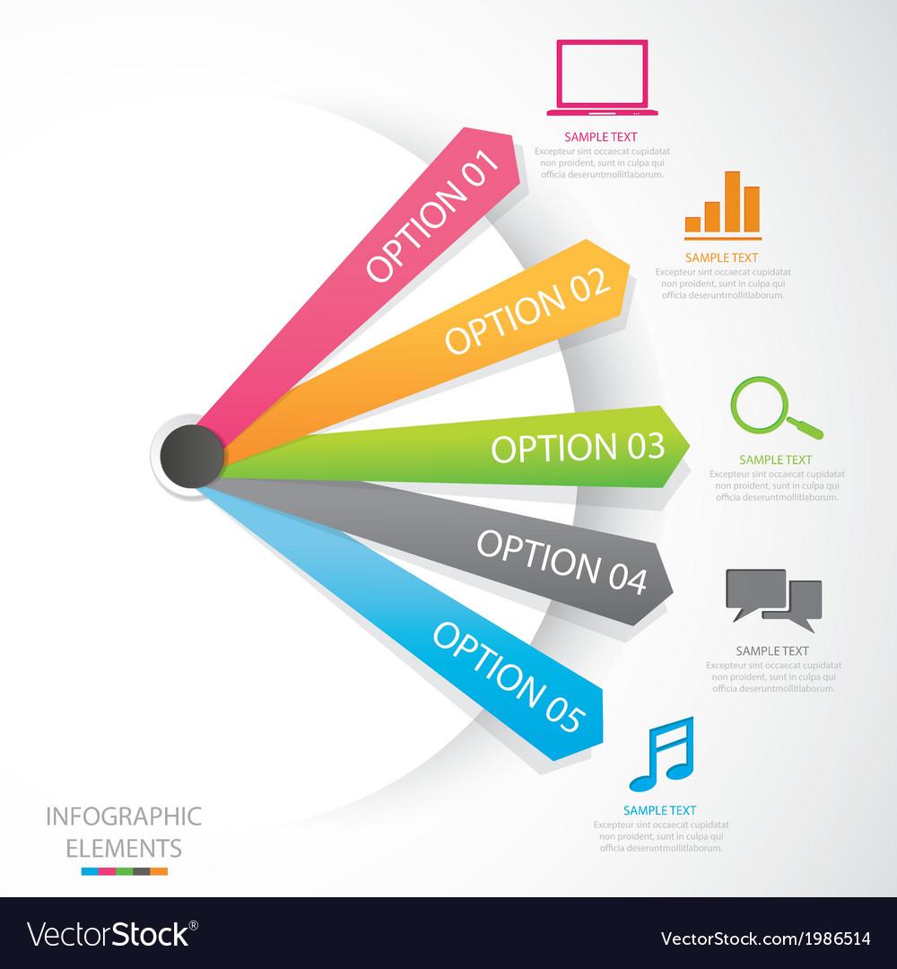 Diagram social media vector | Price: 1 Credit (USD $1)