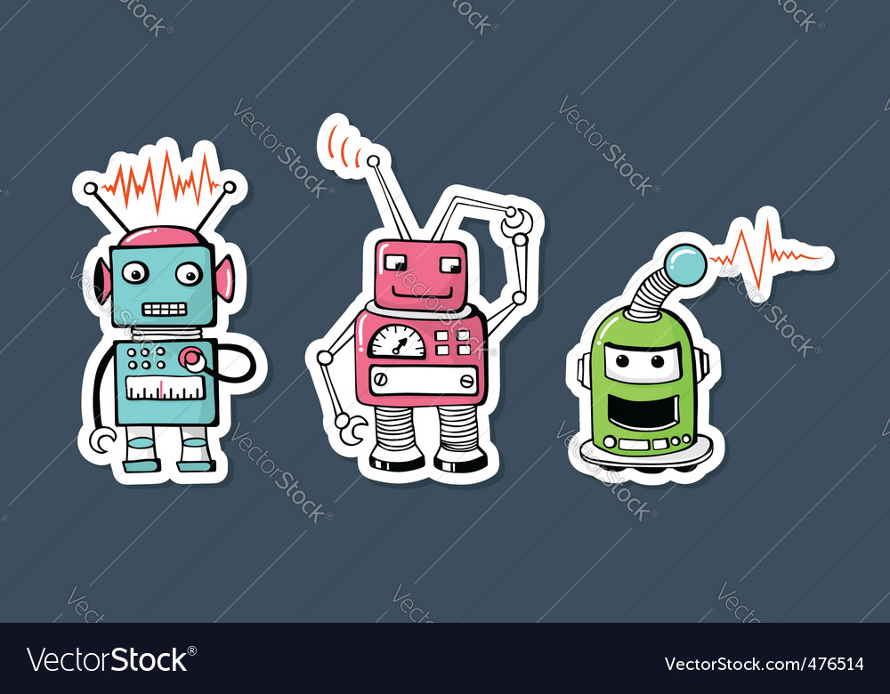 Robots vector | Price: 3 Credit (USD $3)