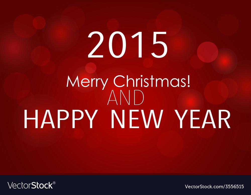 2015 happy new year vector | Price: 1 Credit (USD $1)