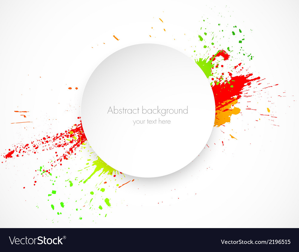 Abstract grunge background with paper label vector | Price: 1 Credit (USD $1)