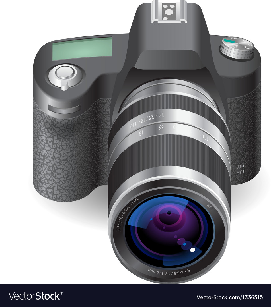 Icon for slr camera vector | Price: 1 Credit (USD $1)