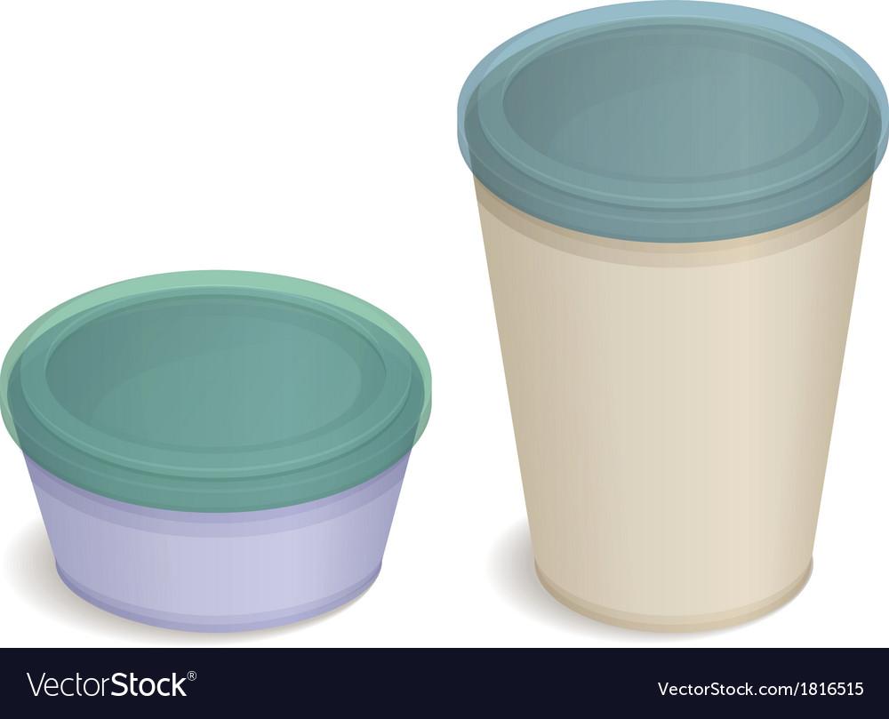 Plastic packaging vector | Price: 1 Credit (USD $1)