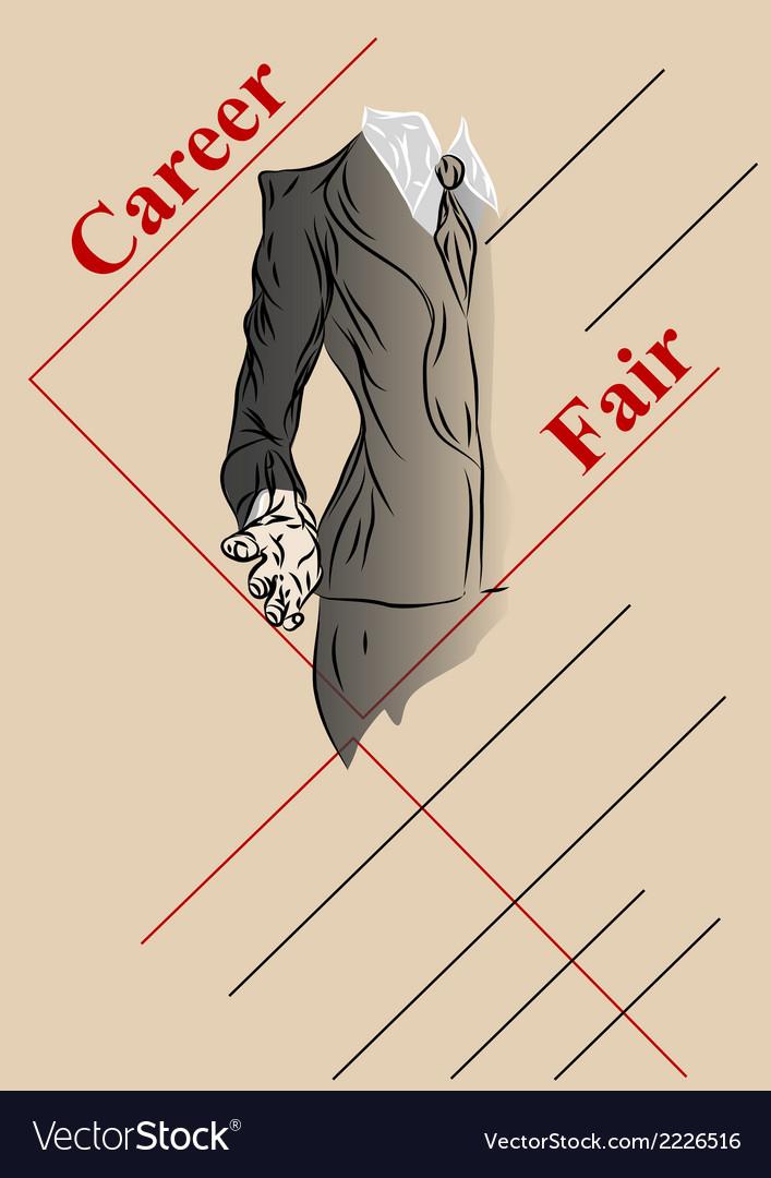 Career fair vector | Price: 1 Credit (USD $1)