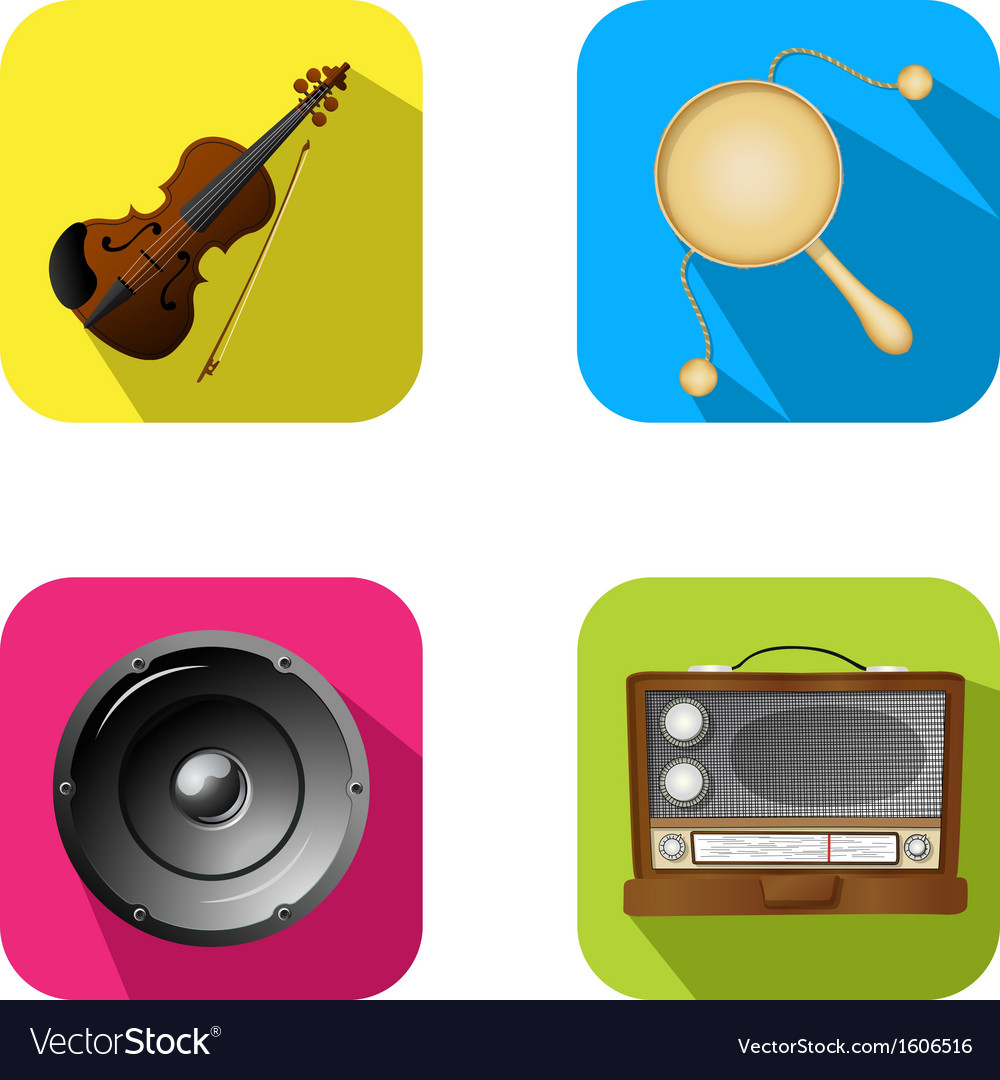 Music and party icons 2 vector | Price: 1 Credit (USD $1)