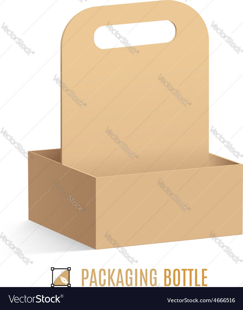 Packaging for bottles vector | Price: 1 Credit (USD $1)