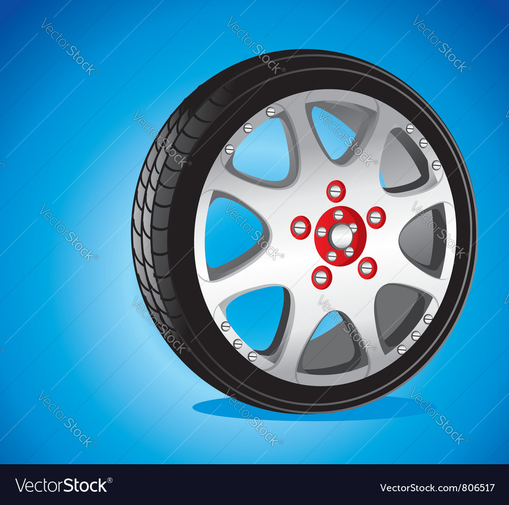 Alloy wheel vector | Price: 3 Credit (USD $3)