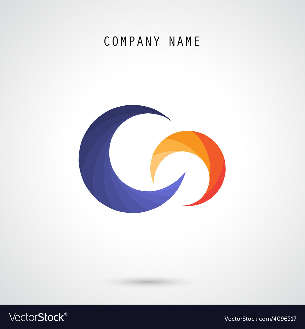 Creative circle abstract logo design templa vector | Price: 1 Credit (USD $1)