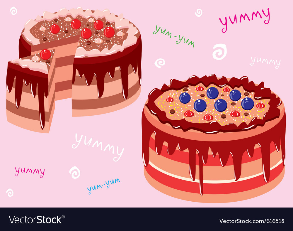Cake vector | Price: 3 Credit (USD $3)