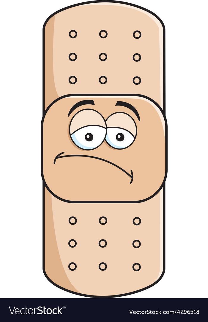 Cartoon bandage vector | Price: 1 Credit (USD $1)