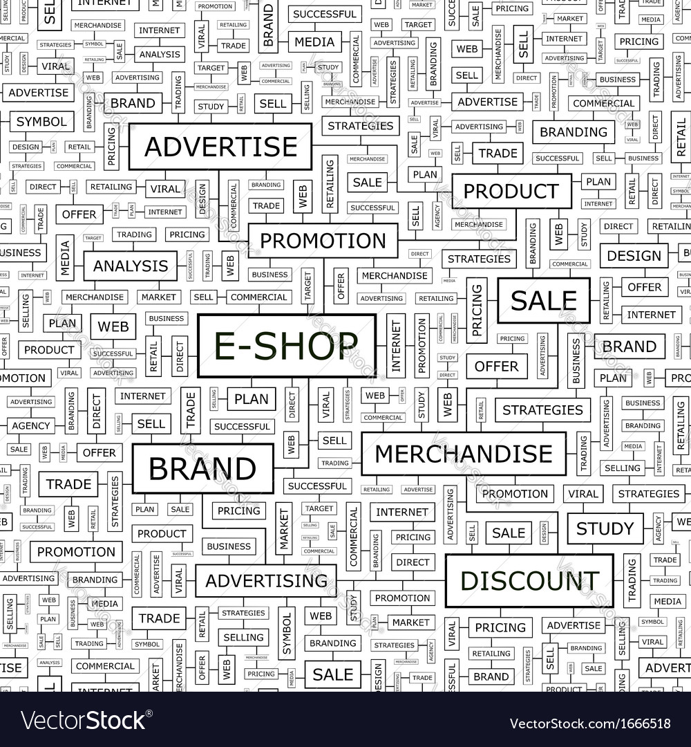 E shop vector | Price: 1 Credit (USD $1)