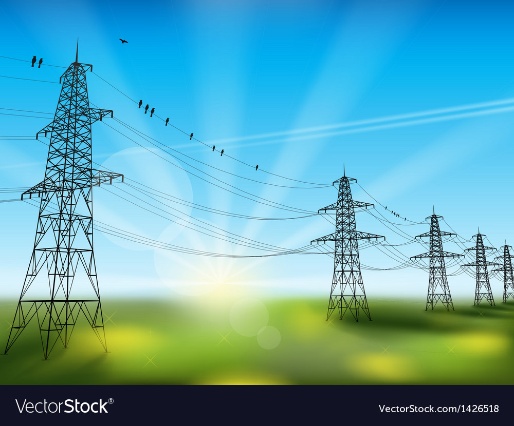 Electricity vector | Price: 1 Credit (USD $1)