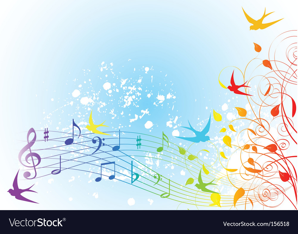 Spring song vector | Price: 1 Credit (USD $1)
