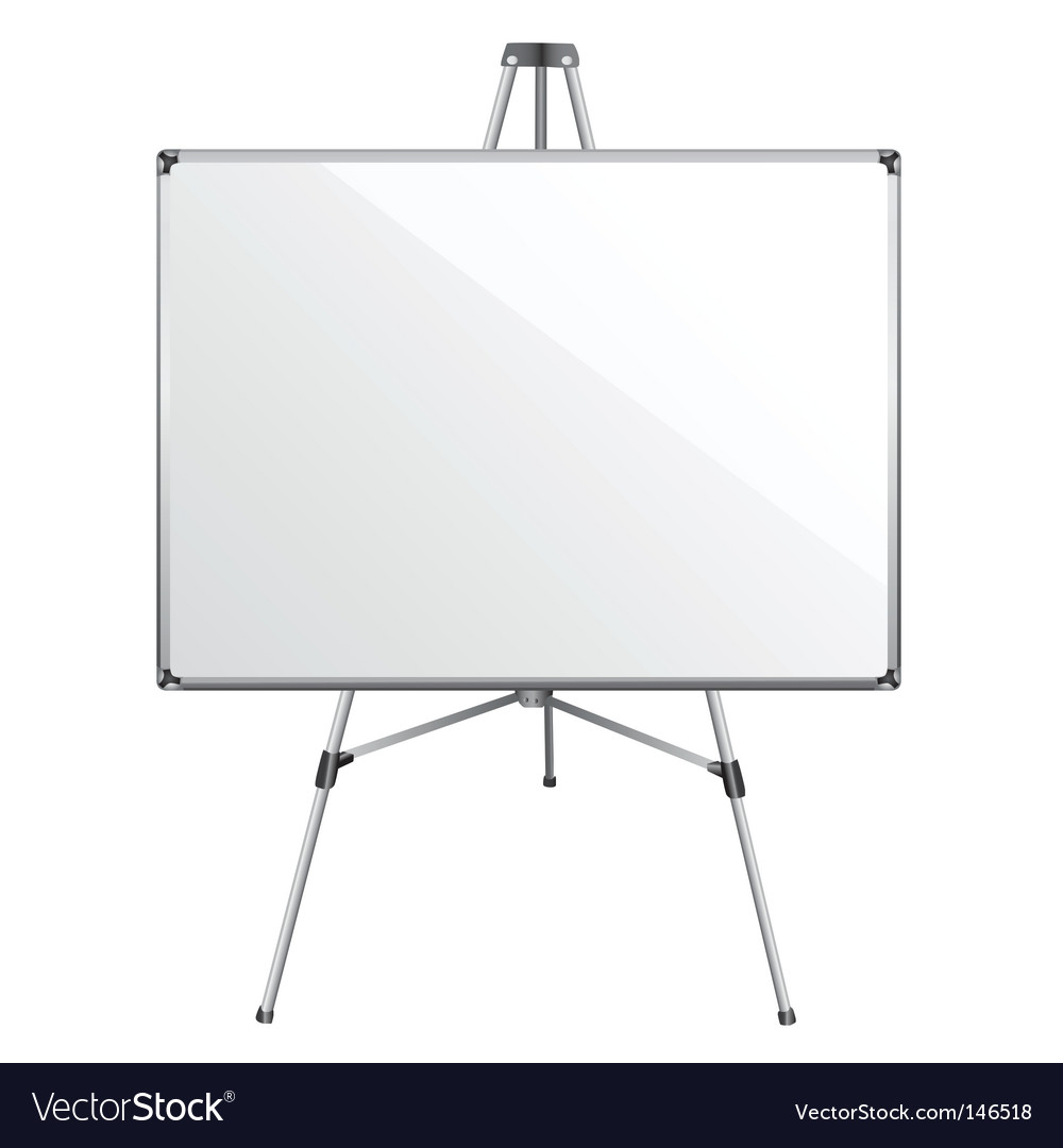 White board vector | Price: 1 Credit (USD $1)