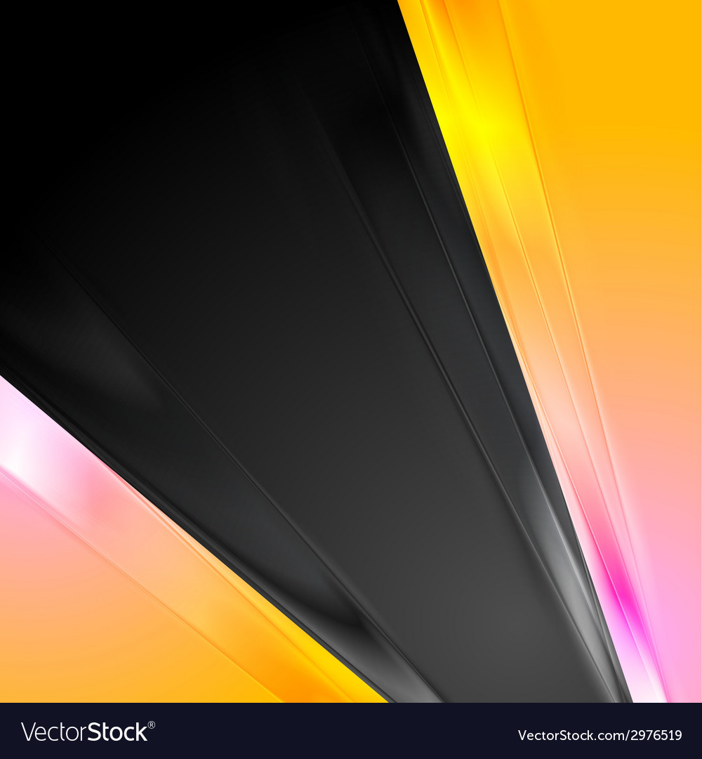 Abstract pink and yellow contrast background vector | Price: 1 Credit (USD $1)