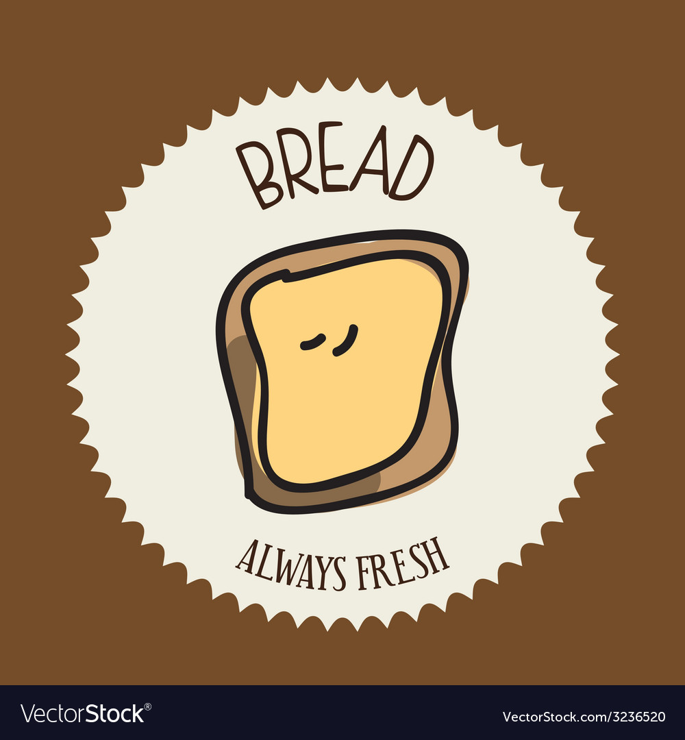 Bread design vector | Price: 1 Credit (USD $1)