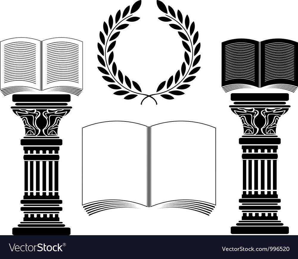 Education stencil first variant vector | Price: 1 Credit (USD $1)