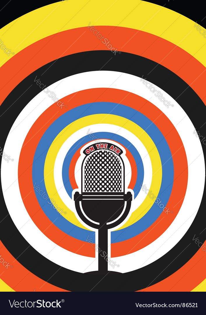 Broadcasting poster vector   Price: 1 Credit (USD $1)