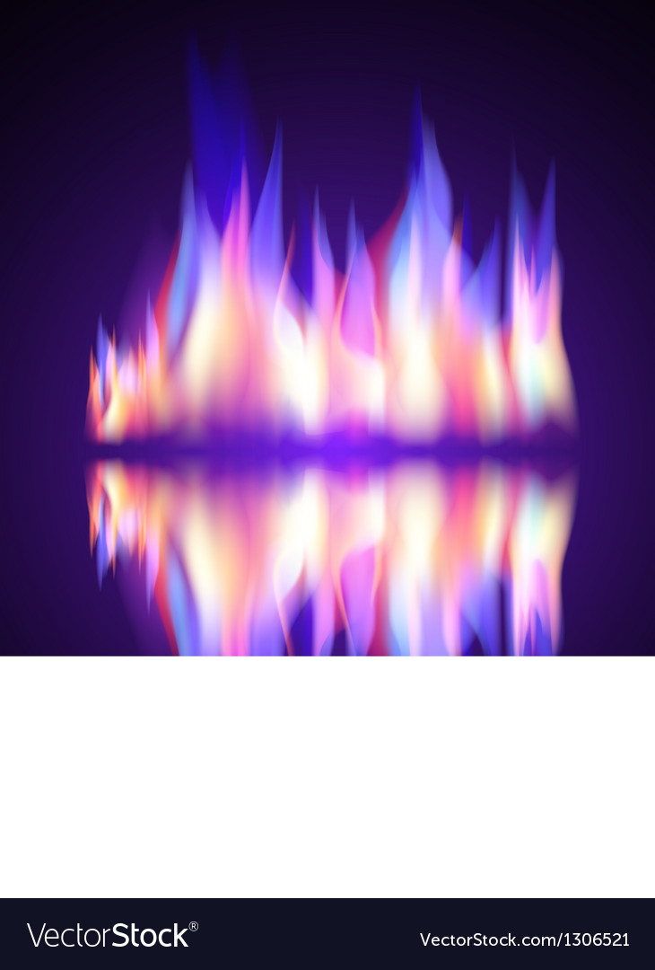 Gas fire flame burn background vector | Price: 1 Credit (USD $1)
