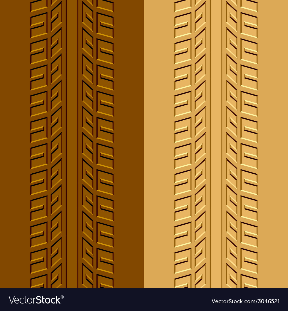 Trace tyre mud sand vector | Price: 1 Credit (USD $1)