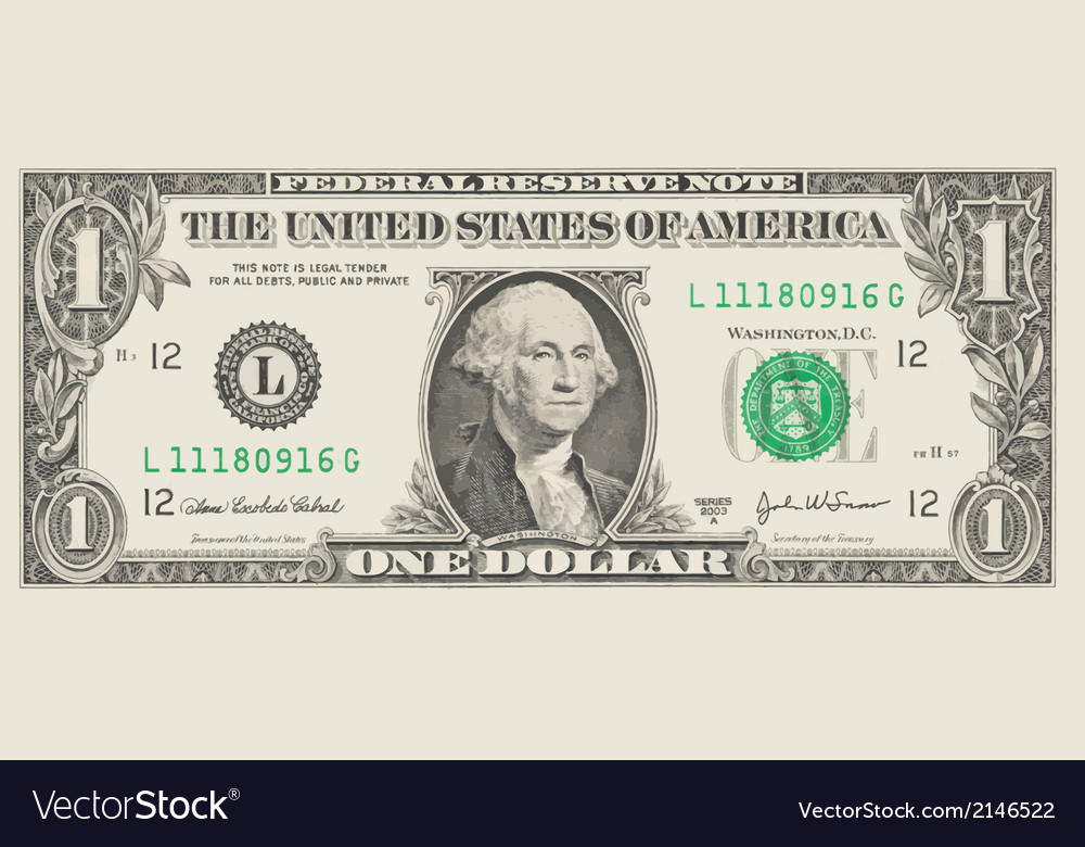 Dollar vector | Price: 1 Credit (USD $1)