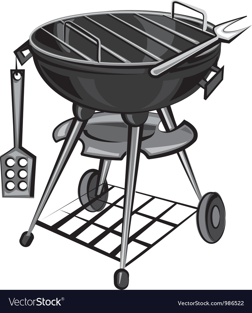 Grill vector | Price: 3 Credit (USD $3)