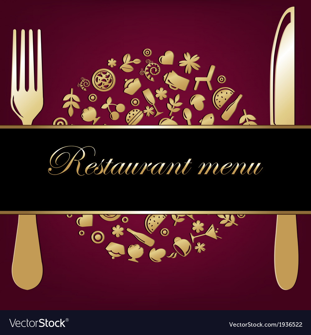 Restaurant background vector | Price: 1 Credit (USD $1)
