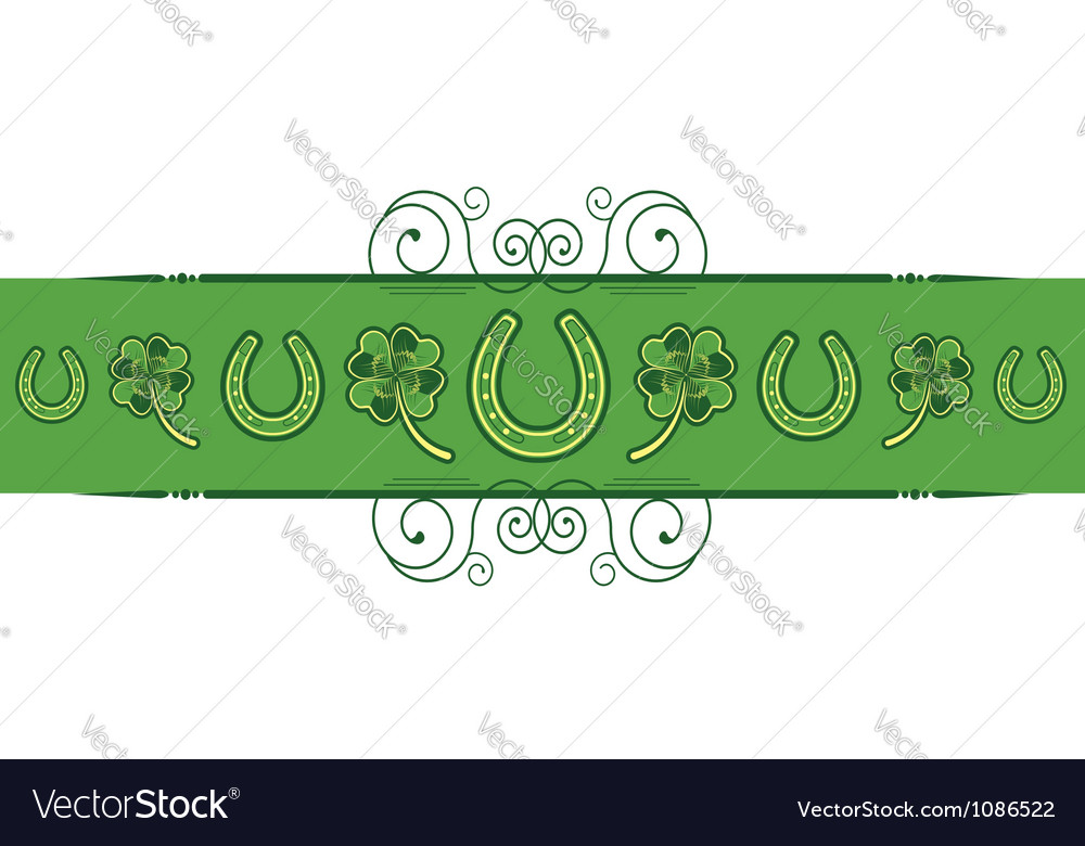 St patricks day abstract background with vector | Price: 1 Credit (USD $1)