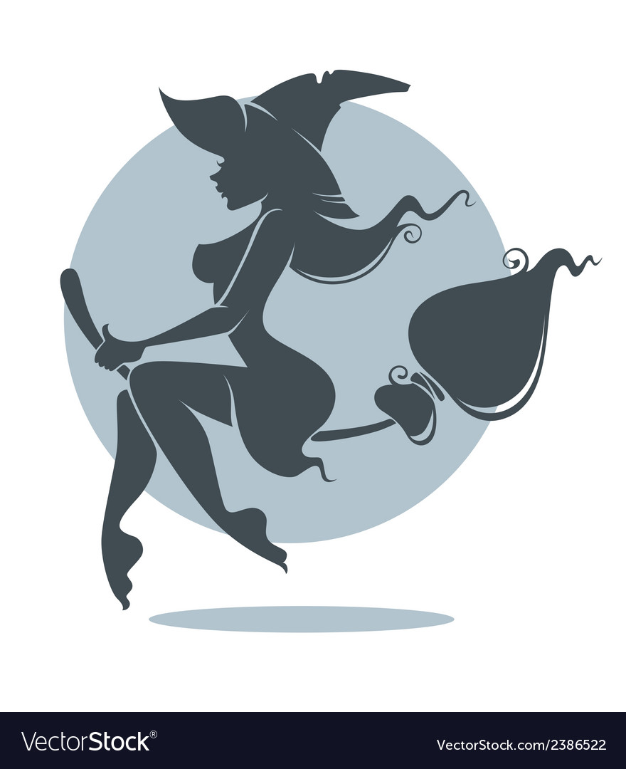 Young attractive witch vector   Price: 1 Credit (USD $1)