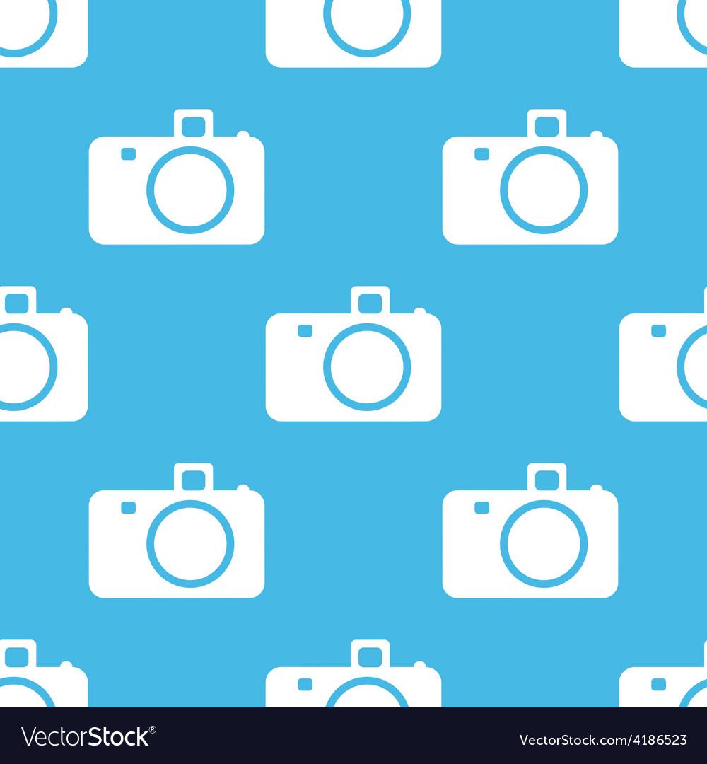 Camera seamless pattern vector | Price: 1 Credit (USD $1)