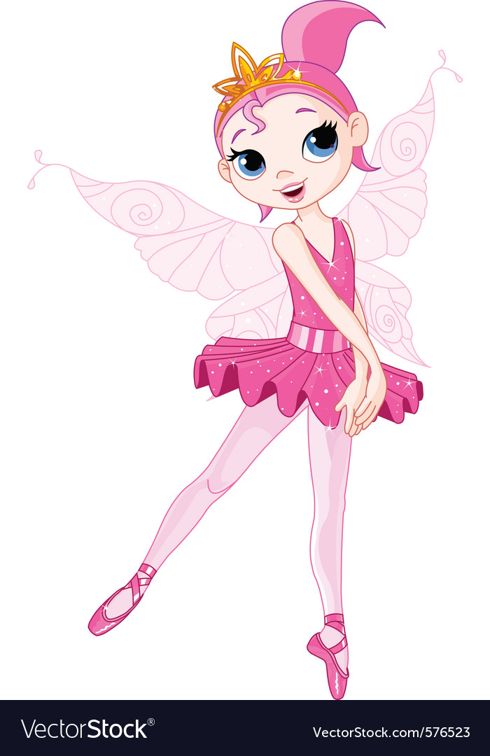 Cartoon ballerina vector | Price: 3 Credit (USD $3)