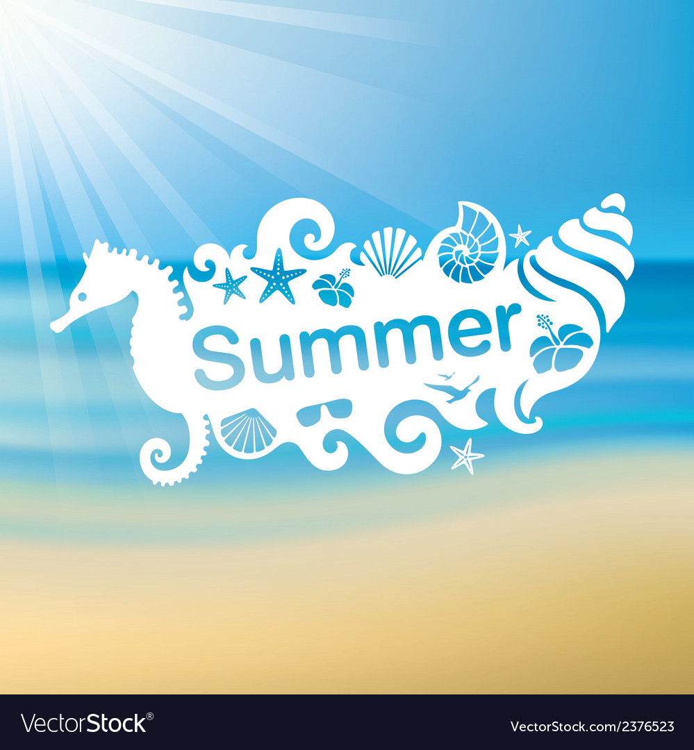 Summer 2 01 vector | Price: 1 Credit (USD $1)