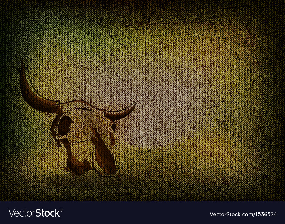 Texture grain dark with skull vector | Price: 1 Credit (USD $1)