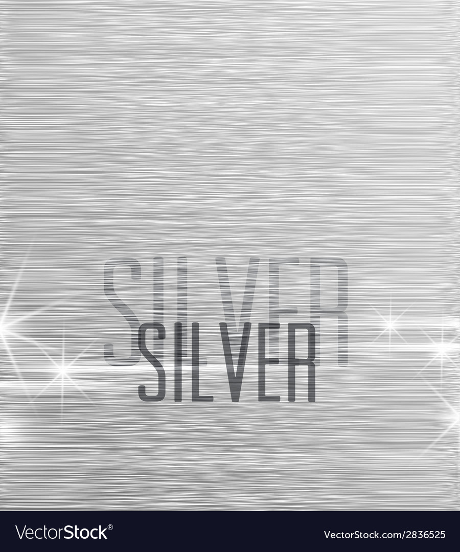 Background silver vector