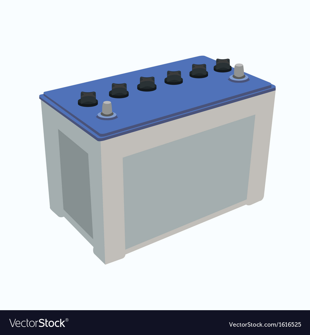 Car battery vector | Price: 1 Credit (USD $1)