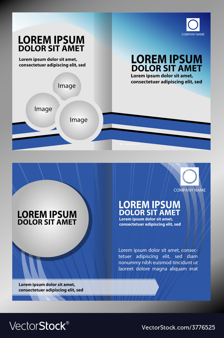 Catalog or brochure template design vector | Price: 1 Credit (USD $1)