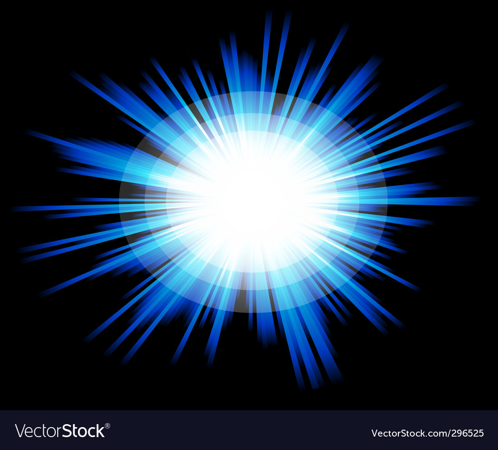 Light sparkle with blue colours vector | Price: 1 Credit (USD $1)