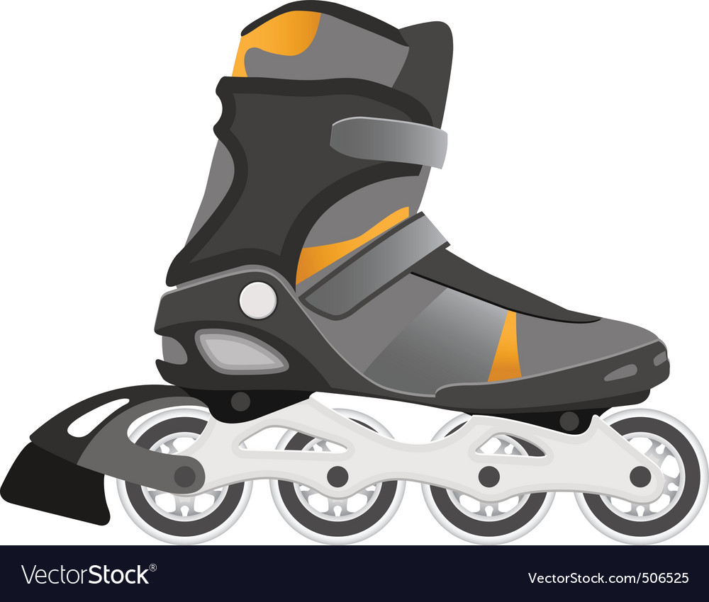 Roller skating vector | Price: 1 Credit (USD $1)