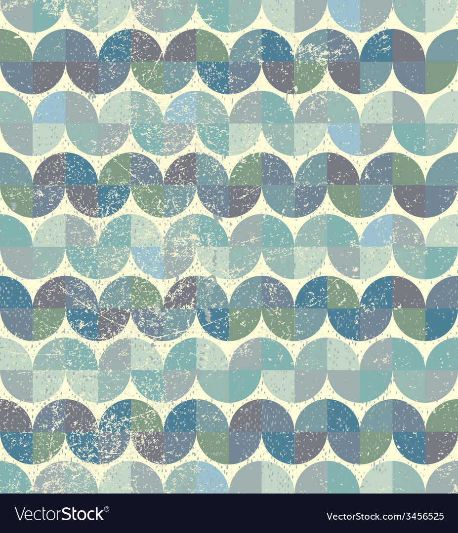 Worn textile geometric seamless pattern decorative vector | Price: 1 Credit (USD $1)