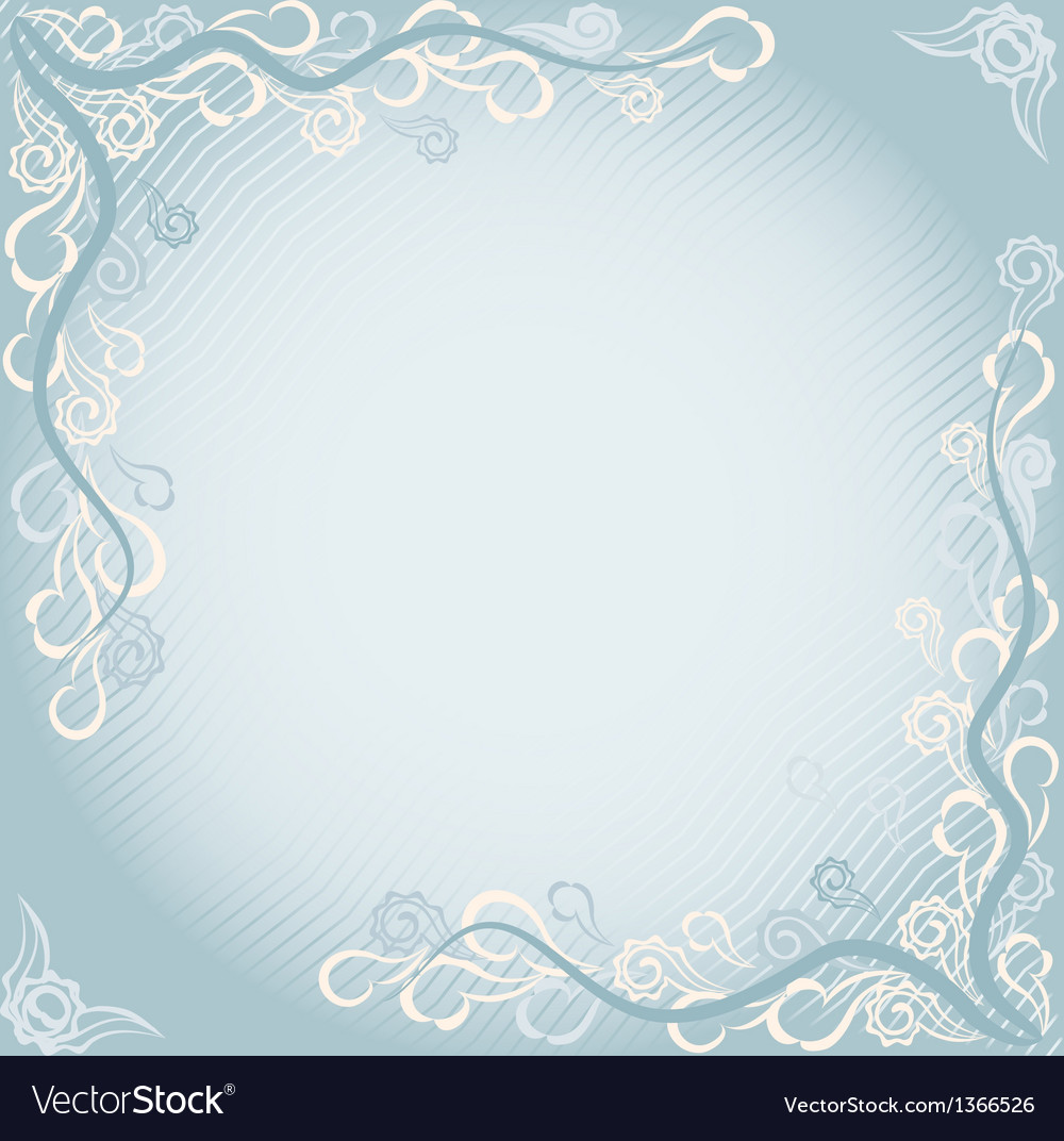 Floral card in eastern style vector | Price: 1 Credit (USD $1)
