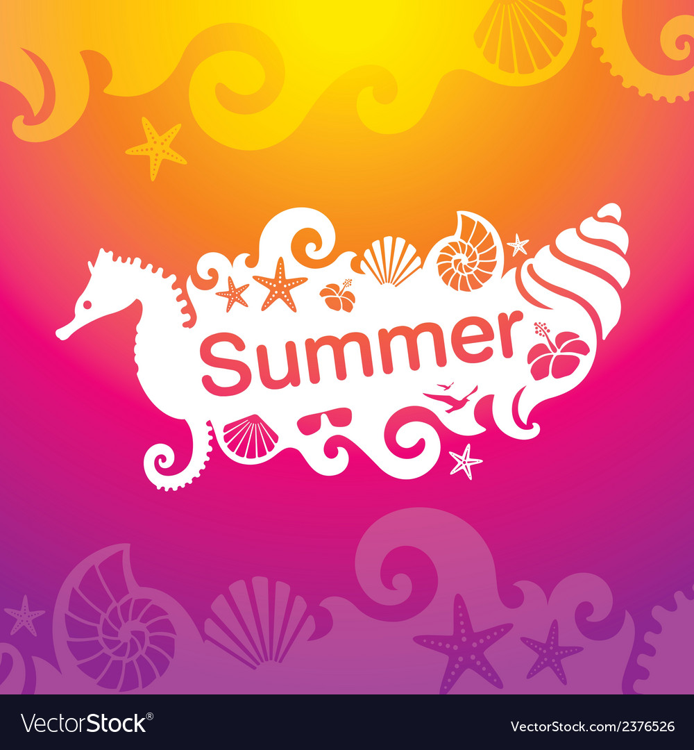 Summer 01 vector | Price: 1 Credit (USD $1)