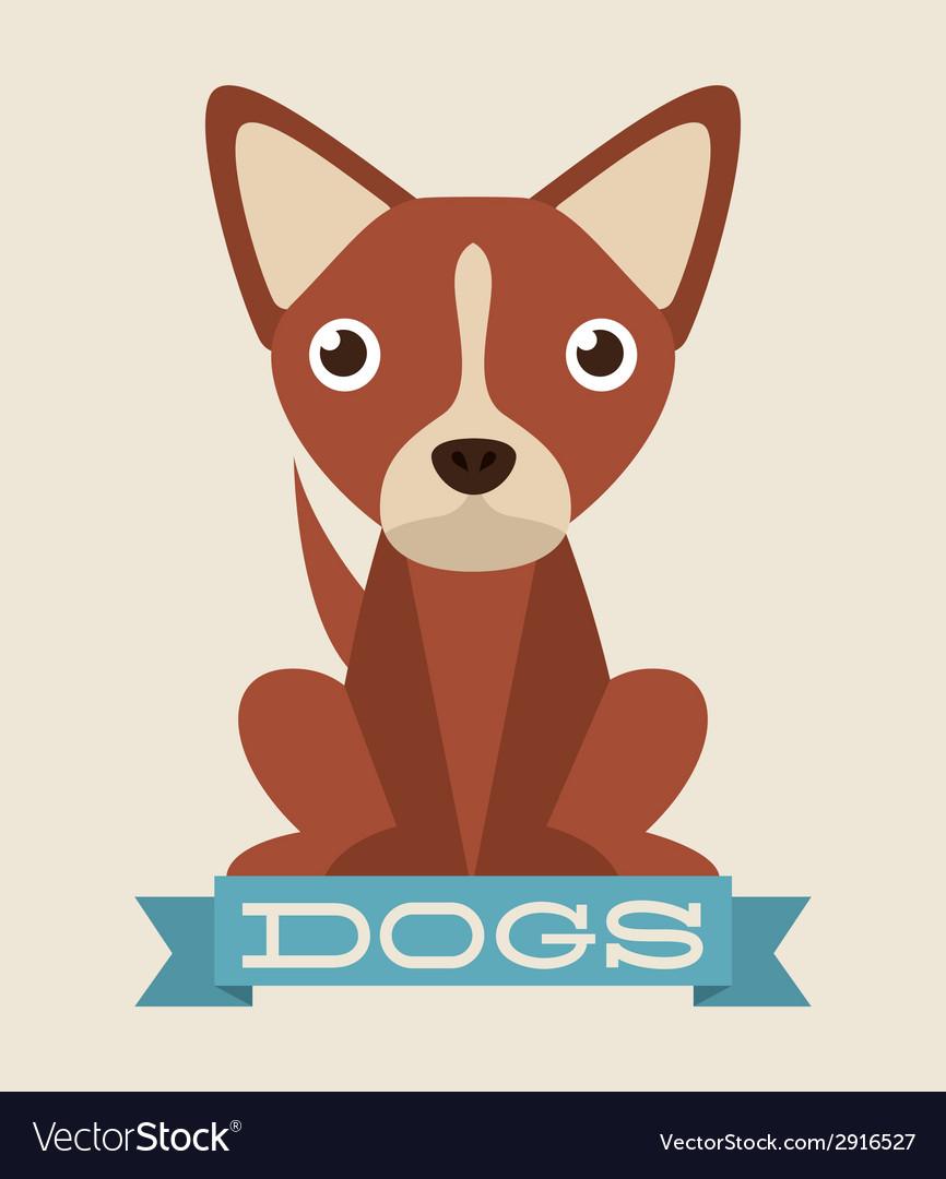 Dog design vector | Price: 1 Credit (USD $1)