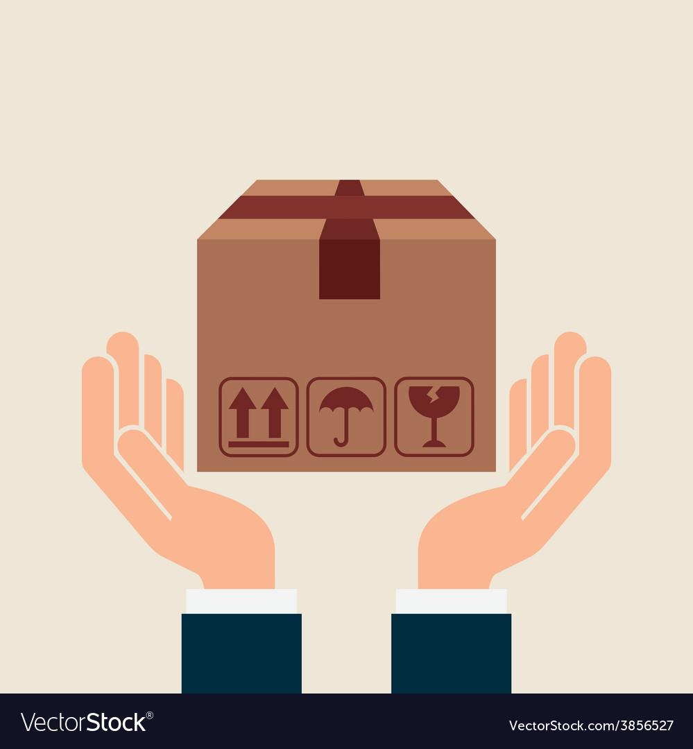 Transport logistics vector | Price: 1 Credit (USD $1)