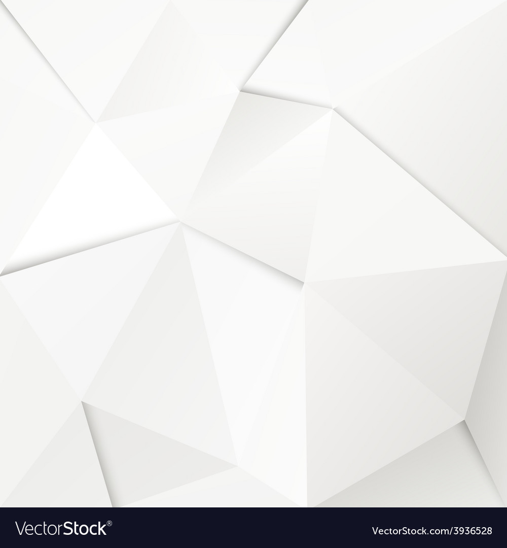 Abstract geometric polygonal paper background vector | Price: 1 Credit (USD $1)