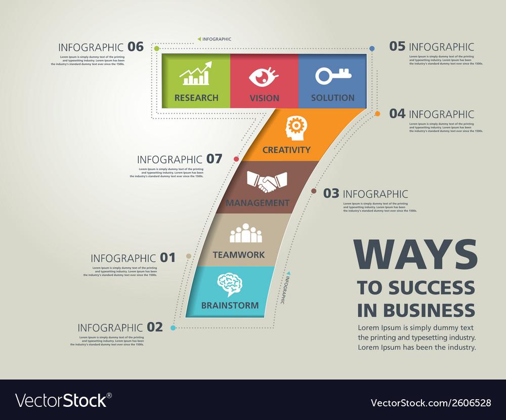 Infographic typography 11 vector | Price: 1 Credit (USD $1)