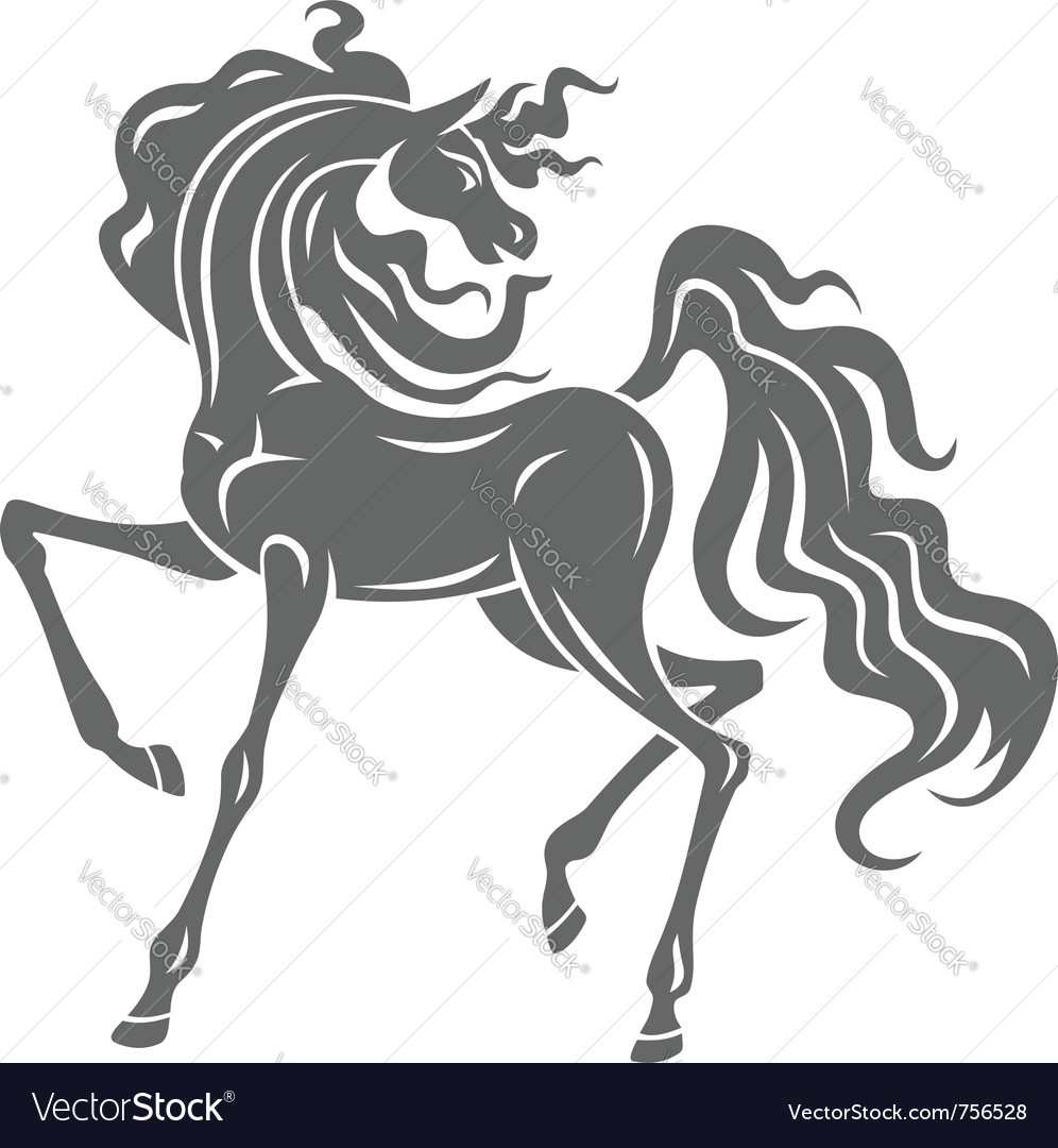 Stallion vector | Price: 1 Credit (USD $1)