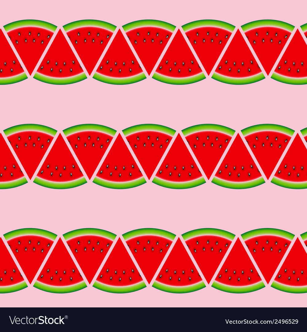 Abstract natural summer background with watermelon vector | Price: 1 Credit (USD $1)