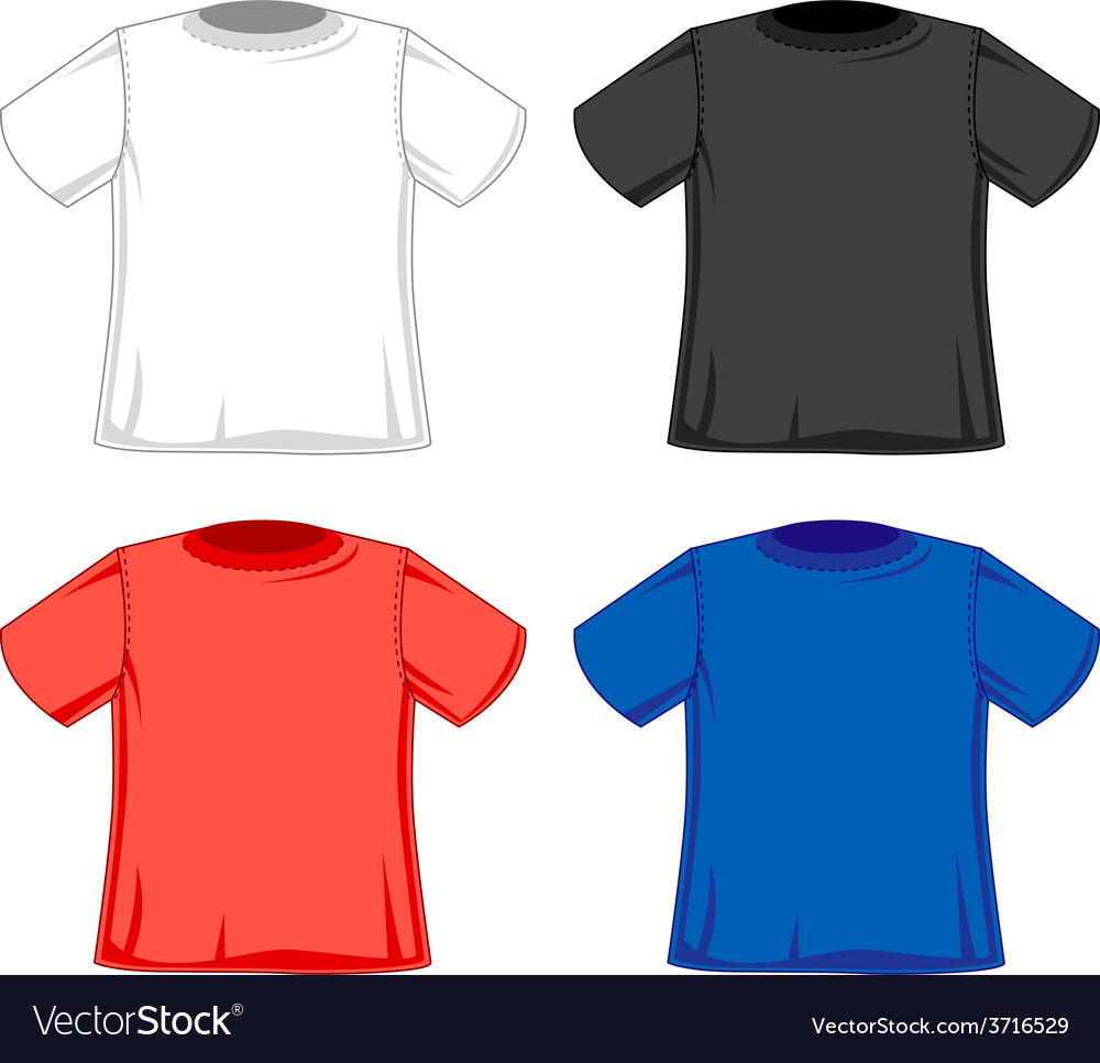 Design models of t-shirts vector | Price: 1 Credit (USD $1)