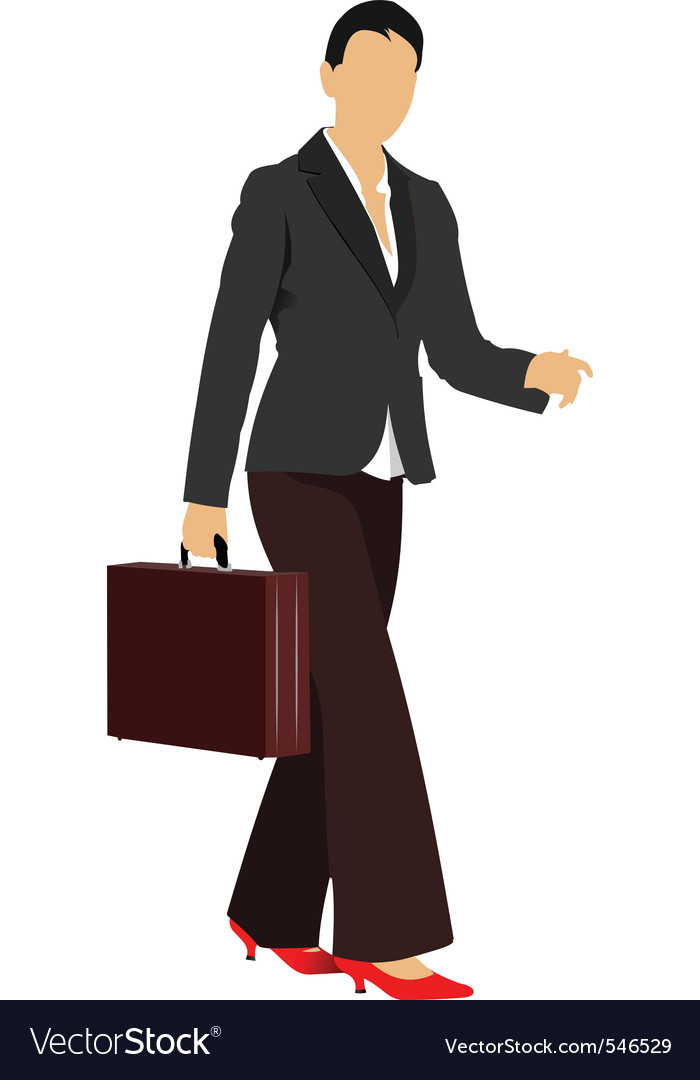 Professional woman vector | Price: 1 Credit (USD $1)