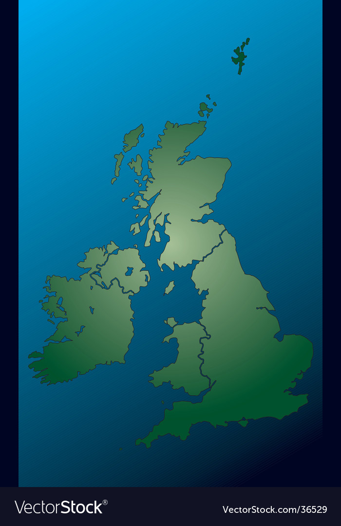 Uk map vector | Price: 1 Credit (USD $1)