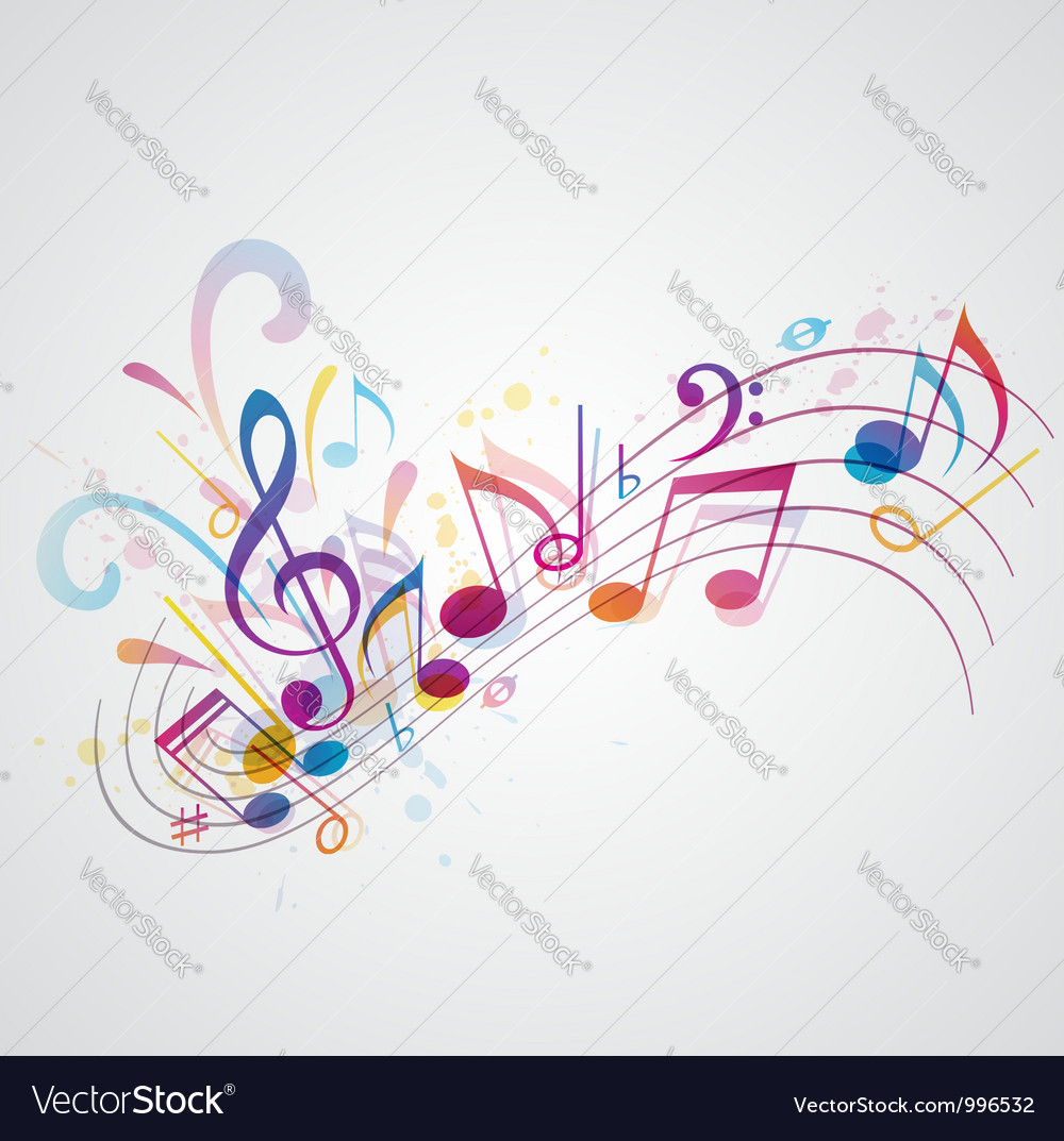 Note music vector | Price: 1 Credit (USD $1)